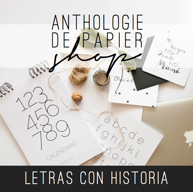Anthologie de Papier shop